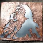 [Vendu – Sold] « Déformation II » (Cervin), 28.5 x 31 cm, 2014.