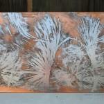[Vendu – Sold] « Larmes de joie », 70 x 40 cm, 2014.