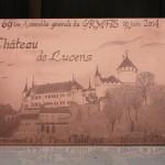 [Commande – Order] « Château de Lucens », 43 x 29 cm, 2014.