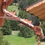 [Commande – Order] Ashmore, dragon en cuivre, 300 x 140 cm, 2015.