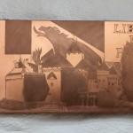 [Vendu – Sold] « Le règne » (Château de Chillon), 20 x 48 cm, 2014.